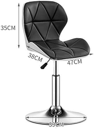 WGZ barkruk, barkruk, fashion bar, creatieve hoge stoel, rugleuning, barkruk, kruk, kruk, kruk, kruk, kruk, kruk, restaurant, kruk, kruk, mode Blauw