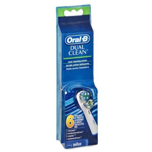 Oral-B Dual Clean Brush Heads – 6 CT
