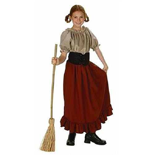 RG Costumes Renaissance Peasant Girl, Child Medium/Size 8-10 - Peasant Costume Child