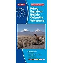 Pérou, Équateur, Venezuela, Bolivie, Colombie, Guyana