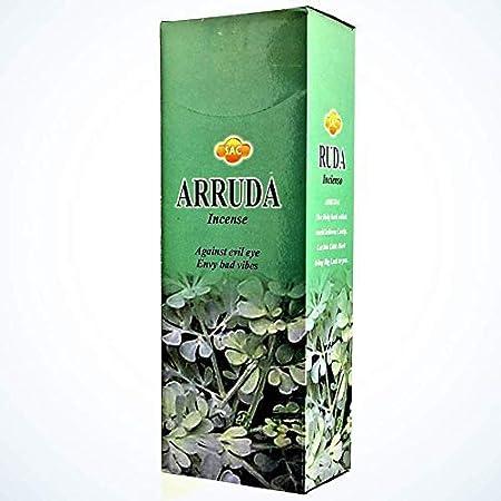 Incienso SAC -Ruda - 6 cajas de 20 varillas: Amazon.es: Hogar
