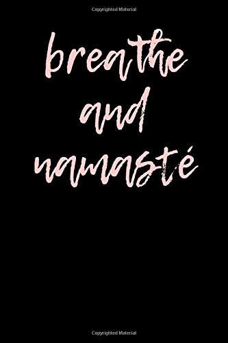 Download Breathe and Namaste: Blank Lined Journal pdf