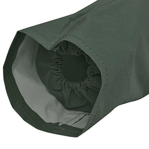 A Vidaxl Con Cappuccio Giallo Pioggia Verde Vento Impermeabile Xl Xxl Resistente Giacca SppaqZI