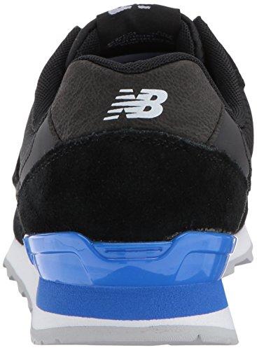 New Balance Femmes 696 V1 Sneaker Noir / Vif Cobalt