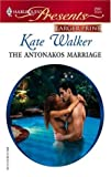 The Antonakos Marriage, Kate Walker, 0373233256