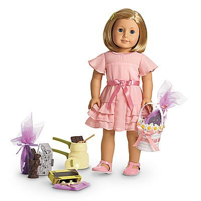 American Girl Limited Edition Kit's Easter Outfit and Candy Making Set by American Girl