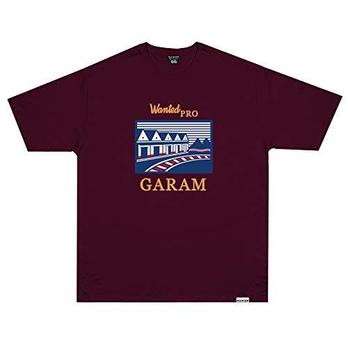 Camiseta Wanted - Garam vermelho Cor:Vermelho;Tamanho:M
