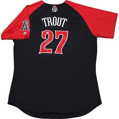 on sale 6a859 988e5 Signed Mike Trout Jersey - 2015 ALL STAR Game . - Steiner ...