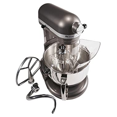 Factory-Reconditioned KitchenAid RKP26M1XPM Professional 600 6-Quart Stand Mixer, Pearl Metallic
