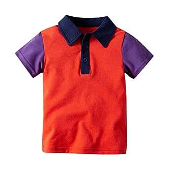 Fairy Baby Edad 1-6 Niños Camisas de Polo Muchachos Manga Corta ...
