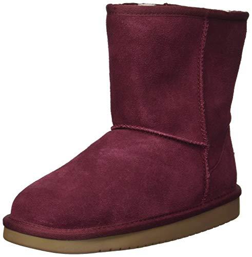 Koolaburra by UGG Unisex K KOOLA Short Fashion Boot, Wild Plum, 04 Medium US Big Kid -