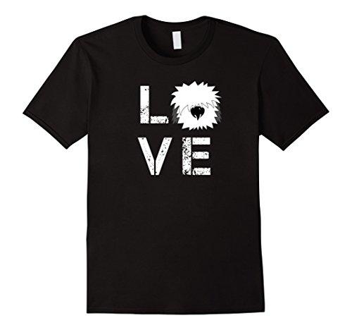 Quote - I Love My Dog - Happy Old English Sheepdog T-Shirt