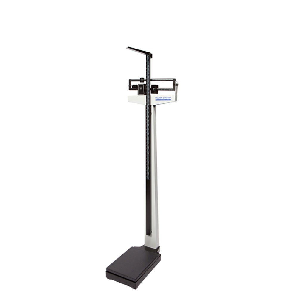 Healthometer 402KL Physician Beam Scale w/ Height Rod (390 lb / 180 kg) by Health o meter