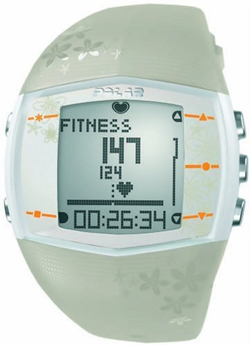 Polar FT40 Women's Heart Rate Monitor Watch (Beige) Review