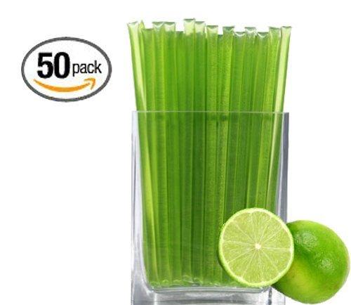 Key Lime Honeystix - Flavored Honey - Pack of 50 Stix - 250g (Lime Honey)