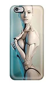 Defender Cases For Iphone 6plus, Woman Robot Pattern