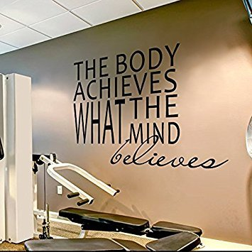 Wall Decal Decor Gym Wall Decal Sports Quotes - The for sale  Delivered anywhere in USA