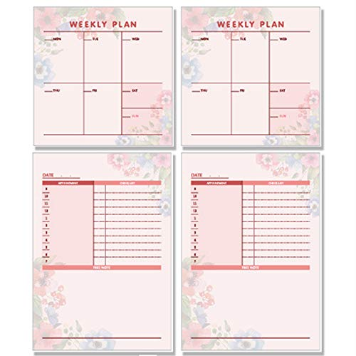 Notebooks & Writing Pads Diligent 1pc Sticky Notes 50 Sheers Diy Planner Memo Notes Notepad Desk Agenda Gift School Office Supplies