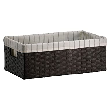 Paper Rope Media Decorative Storage Basket - Dark Brown - Threshold