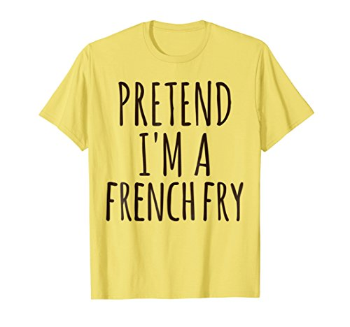 Lazy Halloween Costume Shirt Funny Pretend I'm A French -