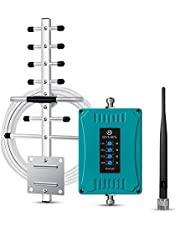 ANNTLENT 5 Band Cell Phone Signal Booster Band 2 4 5 12 13 17 Cellular Booster Home Signal Repeater for Canada - Boost Voice Call and Data