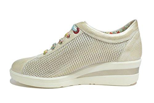 Melluso Sneakers zeppa cometa scarpe donna Walk R20110