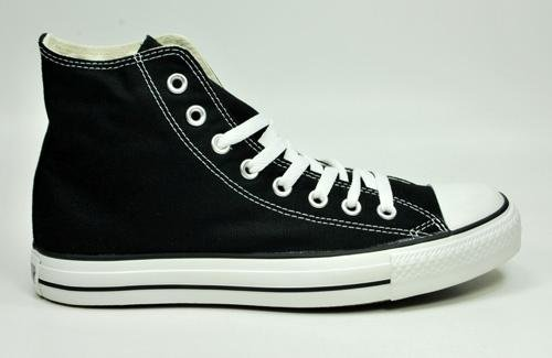 Pictures of Converse Chuck Taylor All Star Hi Men Black 9.5 M US 4