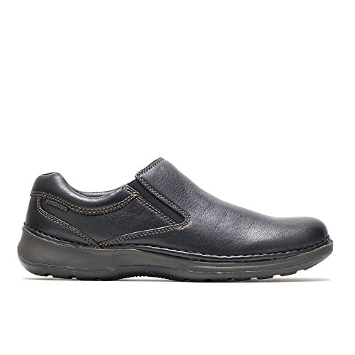 Hush Puppies Men's Lunar II Slip-On,Black,14 W US
