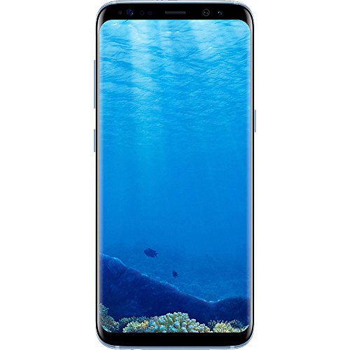 Samsung Galaxy S8+ Dual Sim SM-G9550 – Factory Unlocked (Coral Blue, 64GB) – International Version, No Warranty, GSM ONLY