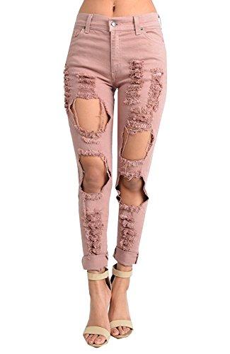 Pink Baggy Jean - 2
