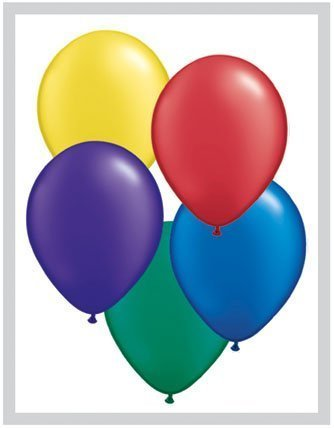 Radiant Pearl Assorted 11 Qualatex Latex Balloons x 25 by Pearlised Solid Colour 11 (Qualatex Radiant Pearl)