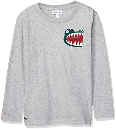 TEE SHIRTS BOYSプリント&ポケットロングスリーブTシャツ