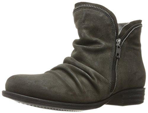 Miz Mooz Womens Luna Ankle Boot Grey Suede h4co54V