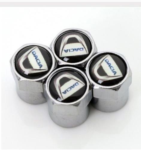 Set of 4 Duster Dust Valve Caps Dacia Generic DYHP-DE10-160907-732