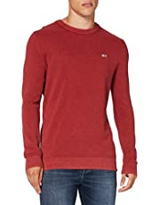 Tommy Jeans TJM lichtgewicht sweater voor heren