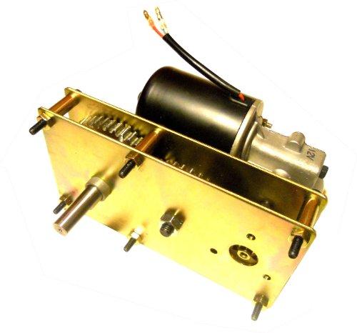 Makermotor High Torque Gearmotor 12V DC 5RPM Spit Smoker BBQ Pig Hog Rotisserie Smoker Conveyor Gear Motor