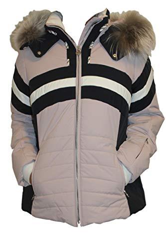 Sportalm Kitzbhel Skis pour Femme avec Fourrure vritable Violet/Bleu Taille 44 XXL