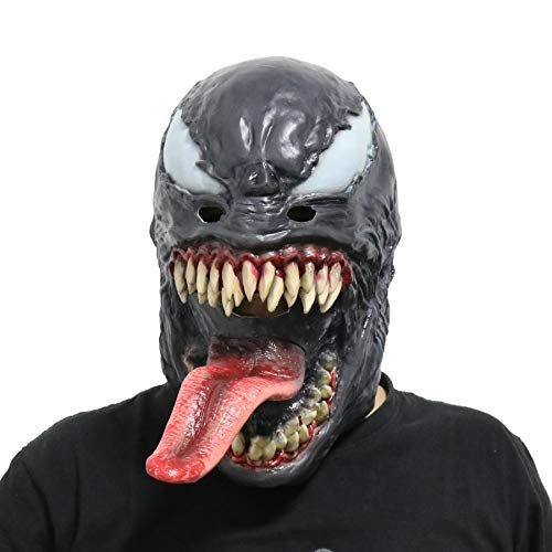 CoserWorld Universe Deluxe Venom Mask Helmet Cosplay Costume Accessories Adult Halloween ()