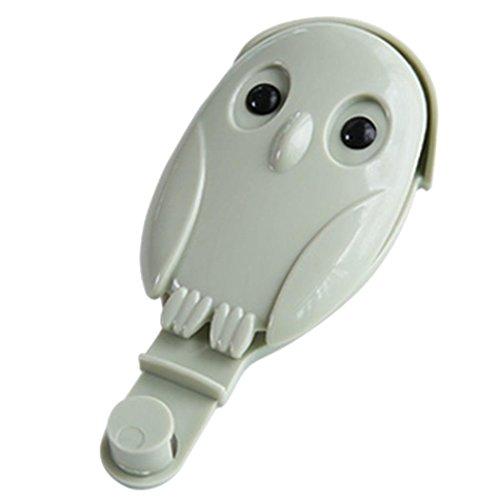 Basin Hanger - MYEDO Owl Shape Wall Washbasin Hook Hanger Rack Clip Holder Kitchen Bathroom Accessory