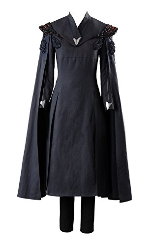 Women's Halloween Costume Dress GOT Season 7 Daenerys Targaryen Dany Cosplay Costume Dress Suit Outfit Gown,Small - Dany Game Of Thrones Costume