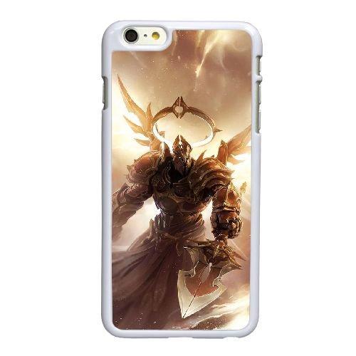 X9G66 Diablo Q7C0NS coque iPhone 6 Plus de 5,5 pouces cas de couverture de téléphone portable coque blanche IH3CNJ2LK