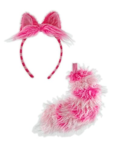 Elope Alice In Wonderland Cheshire Cat Ear and Tail Set (Disney Pin Queen)