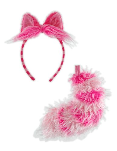 [Elope Alice In Wonderland Cheshire Cat Ear and Tail Set] (Cheshire Cat Costumes For Women)