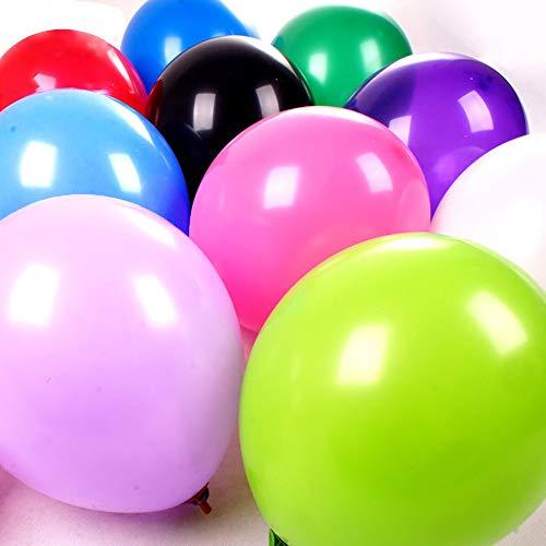 Best-Stuff 100pcs Assorted Color Latex Balloons 10