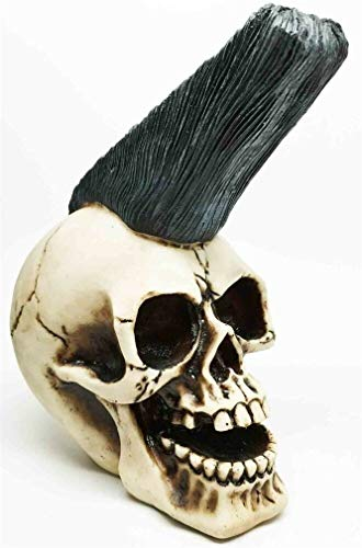 Ky & Co YK Punk Skull Funky Hairstyle Head Skeleton 7.5