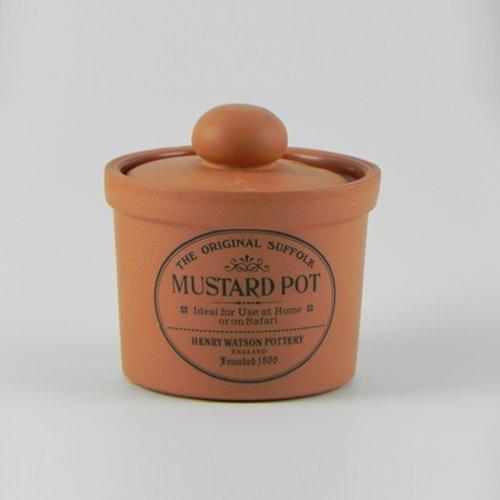 - Charlotte Watson Teracotta English Mustard Pot EHI212
