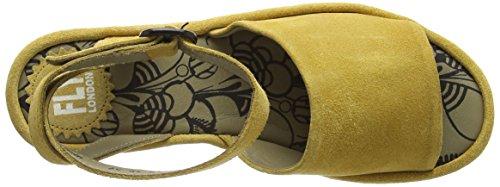 Fly London Booz636fly, Sandali Donna Giallo (Mustard 003)