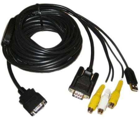 Xenarc 700 Series extra long Monitor Cable 5 Meters , New Ve
