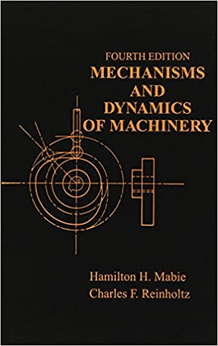 Kinematics And Dynamics Of Machinery Ebook