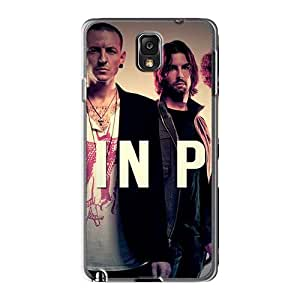 Durable Hard Cell-phone Case For Samsung Galaxy Note3 (anF4877VvxR) Customized High-definition Linkin Park Pictures